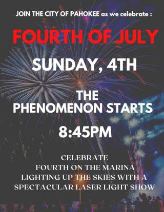 4th of July - Laser Light Show
