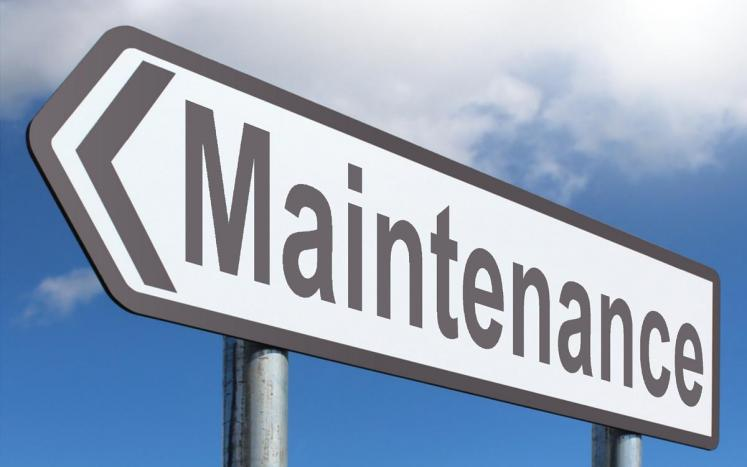 Website is still under maintenance