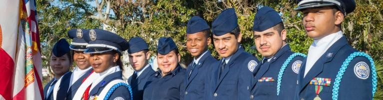 ROTC Students